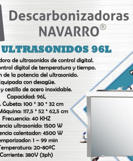 MAQUINA ULTRASONIDO 96L